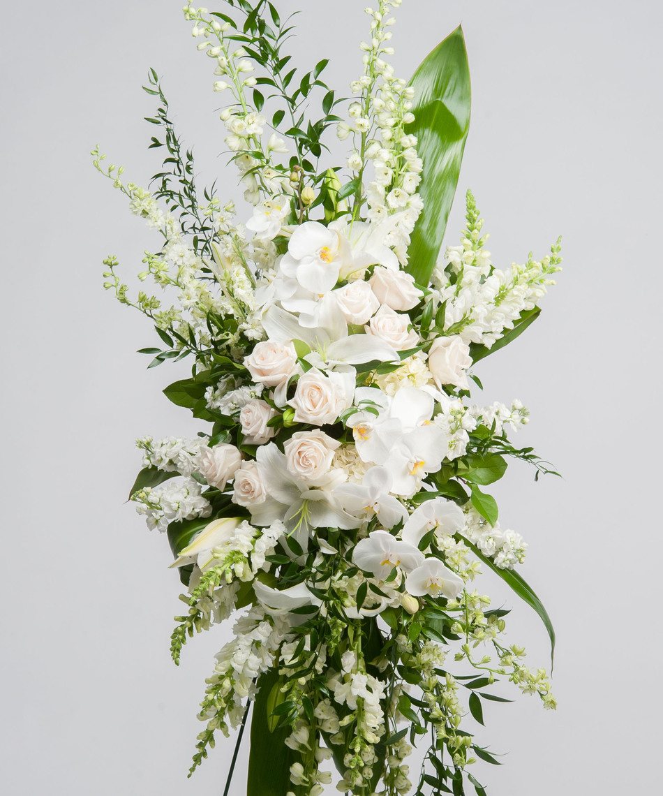 Funeral sympathy the bloom shoppe sympathy flowers express a feeling of life and beauty and offer much comfort to the family flowers provide a living memorial to the deceased as they bring dhlflorist Gallery